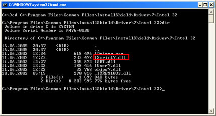 Unregistering malicious DLLs