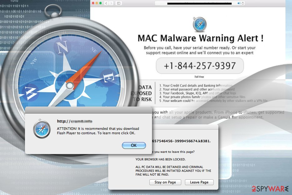 Adware in Safari browser