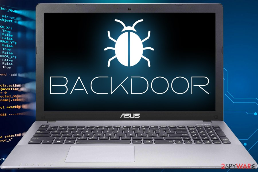Backroods install other malware