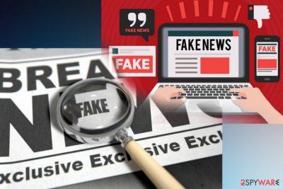 Breaking news not always true