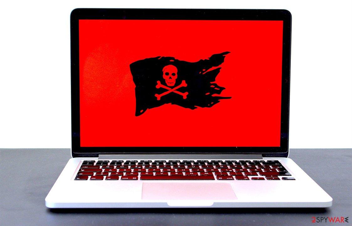 Software pirating malware