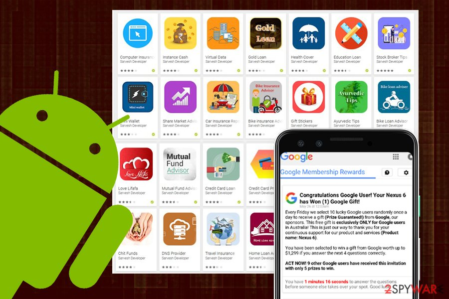 Remove adware from Android