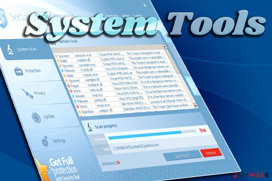 System tools
