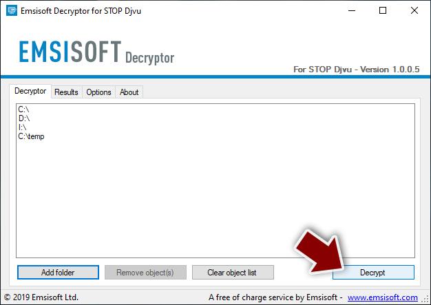 Decrypt Djvu files
