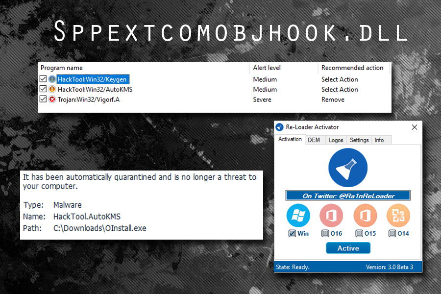 Sppextcomobjhook dll can indicate malware infection - remove it now