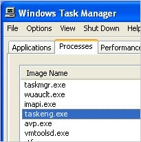 What is taskeng.exe?