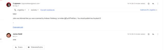 Fake 2-spyware Gmail
