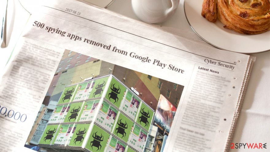 Google Play Store took down 500 apps with Igexin ad SDK in them