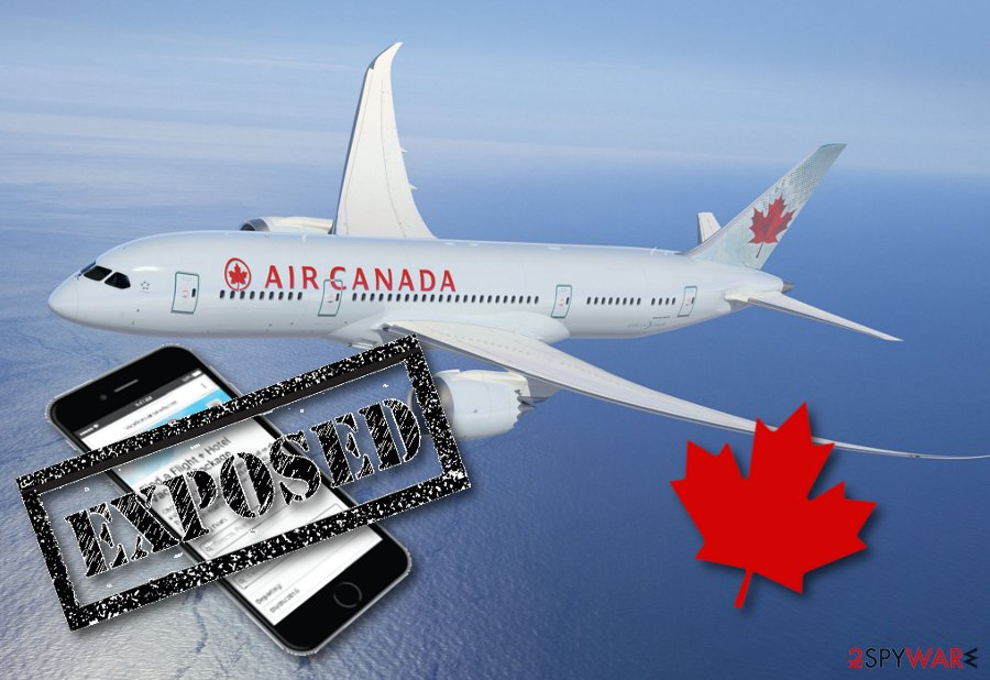Air Canada Mobile App users face personal data exposure