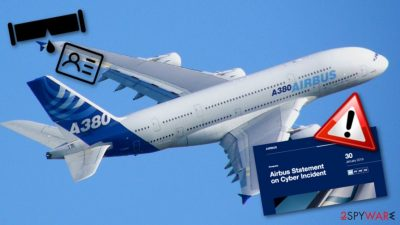 The giant Airbus company experiences a data breach after an incident