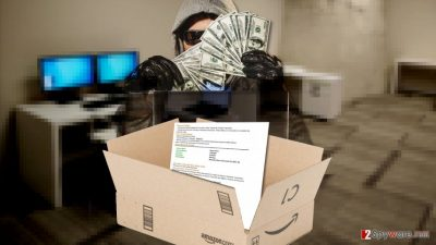 Picture of Amazon scammer