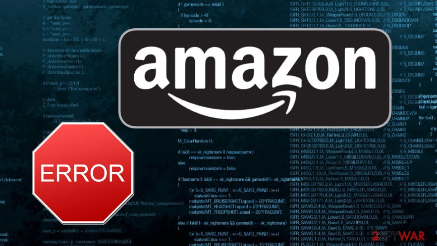Amazon blames technical error for leaked customer data