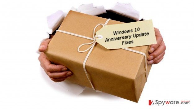 Proposed Win 10 Anniversary Update fixes