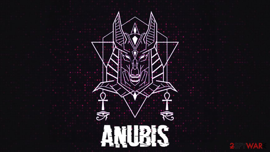 Anubis malware uses ransomware module