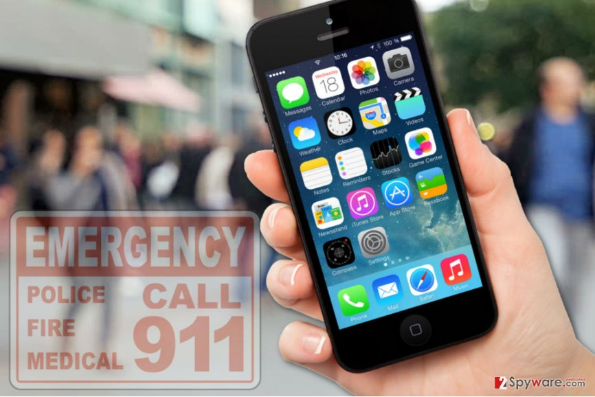 Apple fixed the security flaw used in cyber attack on the 911 system