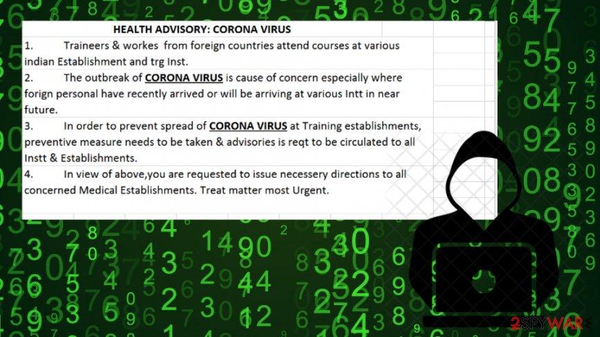 APT36 suspected to push Crimson RAT through fake Coronavirus emails
