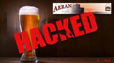 Arran Brewery ransomware attack possibly related to Dharma