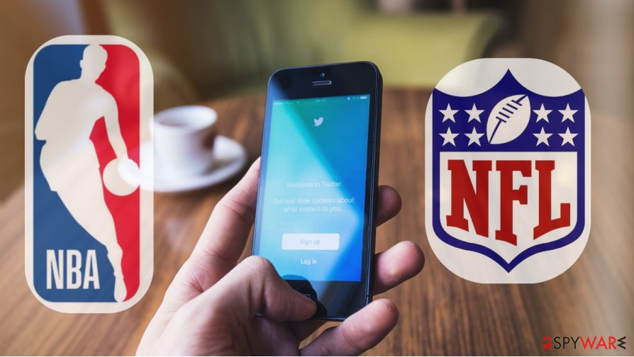 NBA and NFL players became victims of phishing