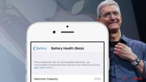 Apple releases the battery health tool to disable intentional iPhone slowdowns