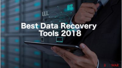 Pick the best free data recovery tool of 2018