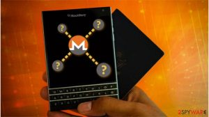 Blackberry site was compromised with Monero-mining malware