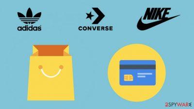 Fake shoe sites steal credit card data