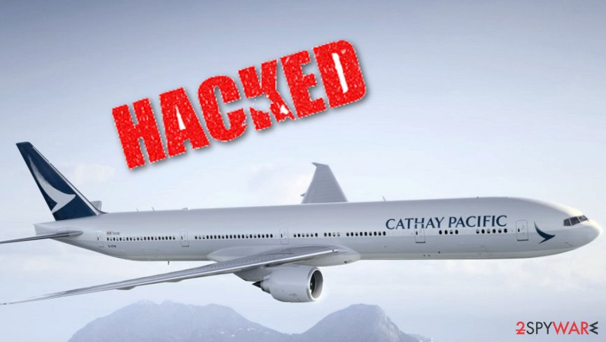 Cathay Pacific warns about data hack
