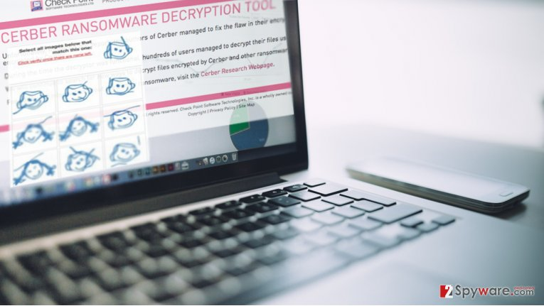 Cerber ransomware developers beat Check Point's free decryption tool