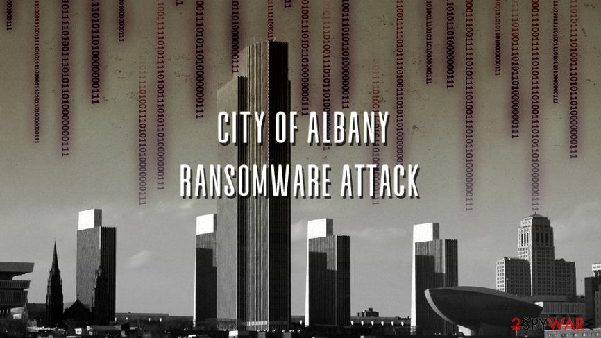 City of Albany ransomware attack