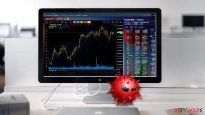 Malware campaign involves fake cryptocurrency trading page