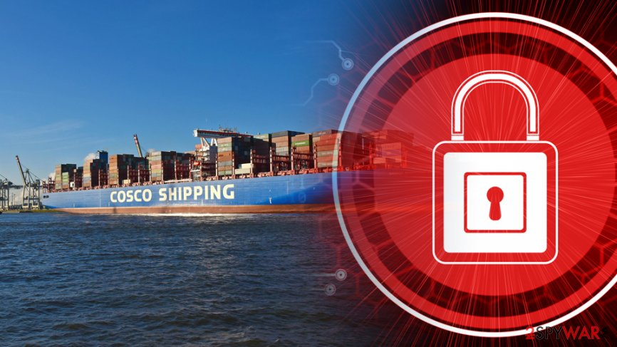 COSCO US hit by ransomware attack