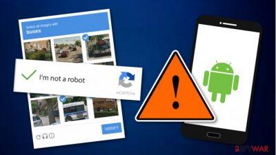 Banking Trojan horse distributed by using false Google reCAPTCHA