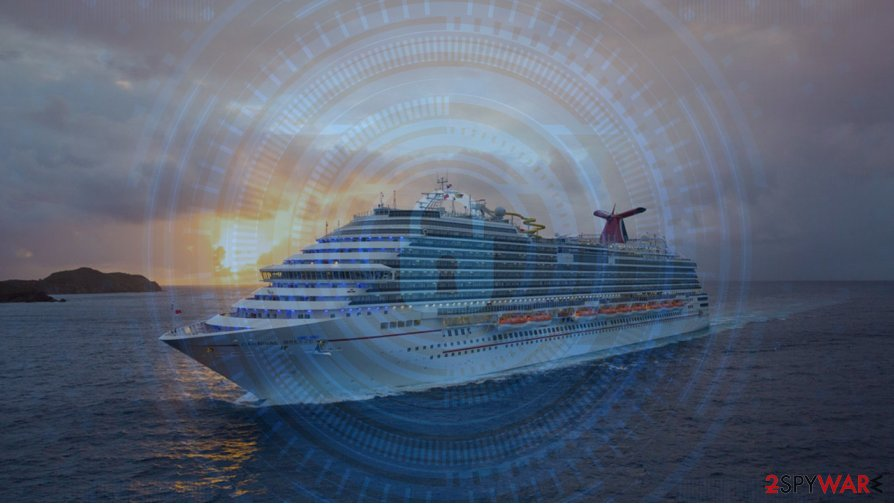 Carnival Corporation ransomware attack