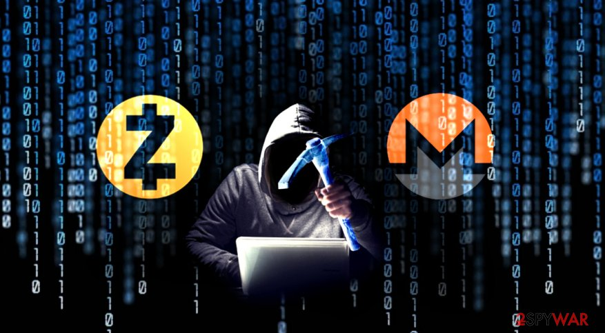 1.65 illegal attempts to install cryptocurrency miners on computers