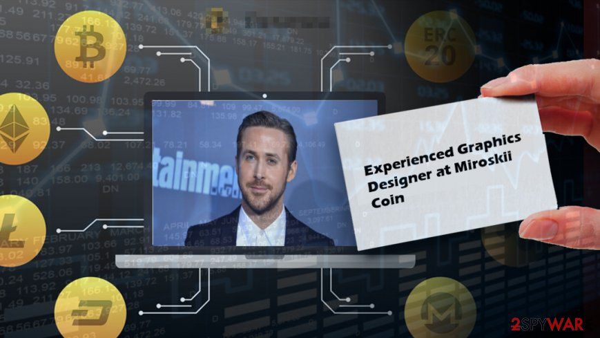 Ryan Gosling involved in cryptocurrency scam