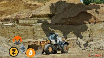 Beapy cryptojacking campaign