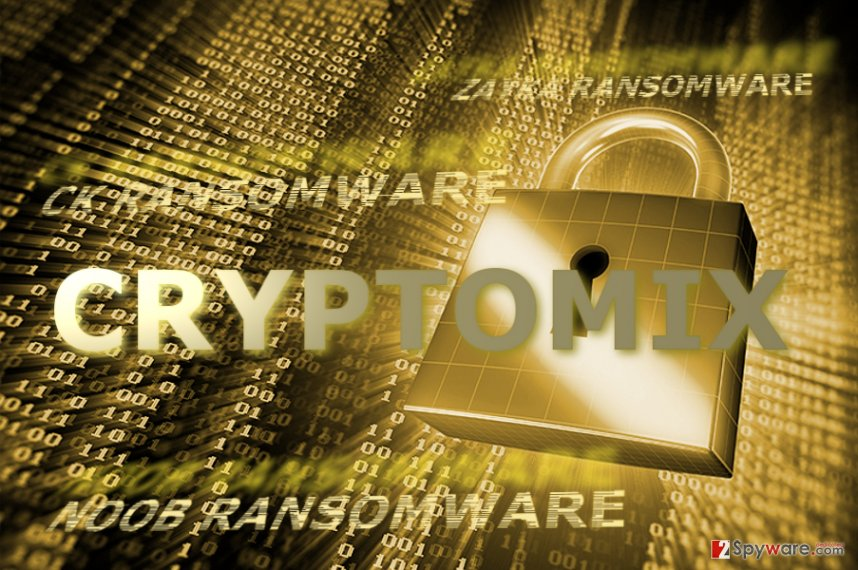 CryptoMix ransomware continues evolving