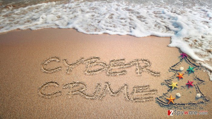 Cyber crime on a holiday
