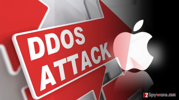 Menace descends upon Apple users: malware assaults through DDoS attacks
