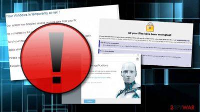 Dharma is found abusing antivirus installation file