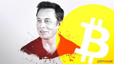 Elon Musk fake Twitter account