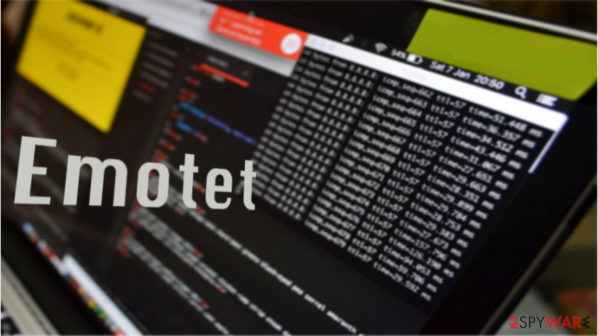New variant of Emotet banking trojan employs email harvesting feature