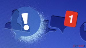 Facebook hoax: scam messages claim account compromise