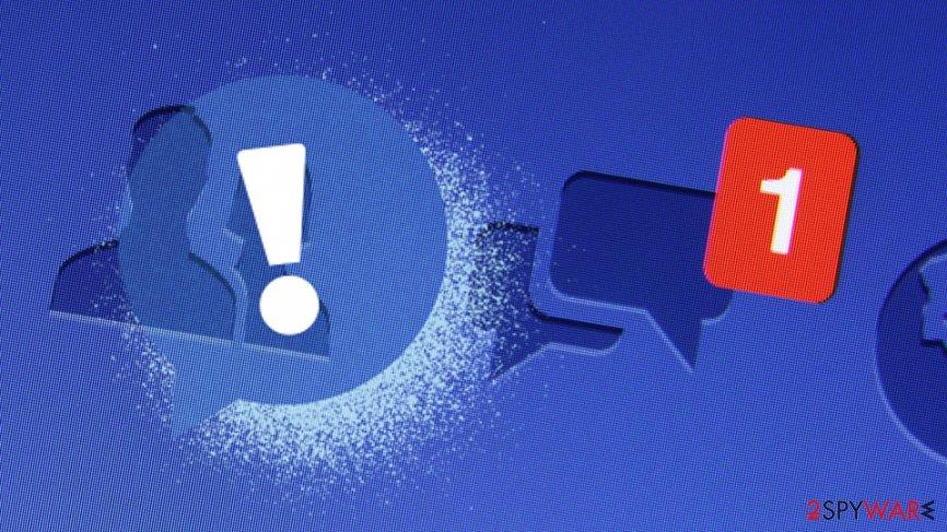 Facebook friend request hoax