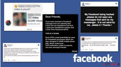 Facebook Messenger video scam promotes malware