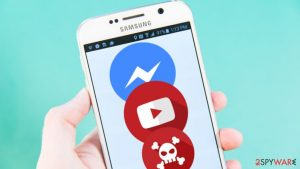 A new wave of Facebook Messenger virus spotted in Germany and Tunisia