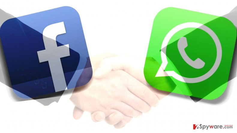 Facebook and WhatsApp collaboration