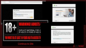Fake adult video sites are pushing adware-related apps