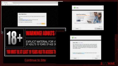 Fake adult sites push virus-filled tools