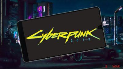Fake Android app Cyberpunk 2077